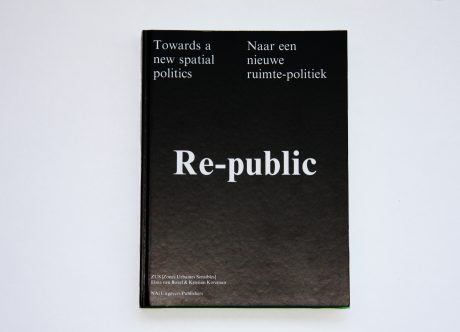 'Re-Public: Towards New Spatial Politics' by Elma van Boxel, Kristian Koreman (ZUS: Zones Urbaines Sensibles), NAi Piblishers, 2007. Image courtesy of ZUS.